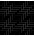 black weave pattern background vector image