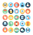 Business and SEO Icons 3 vector image vector image