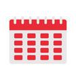 calendar planner icon vector image