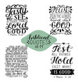 collection 11 with bible verse tasty and see vector image