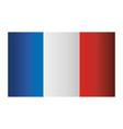 france flag symbol design vector image
