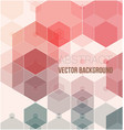 low polygon background with copy-space abstract vector image vector image