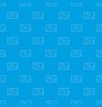 medical card of sleep pattern seamless blue vector image vector image