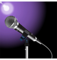 Microphone cord 3 vector image vector image