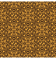 Yellow floral seamless wallpaper pattern vector image vector image