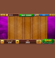 slots game background vector image