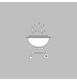 barbecue computer symbol vector image