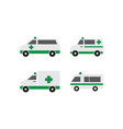 ambulance icon design template isolated vector image vector image