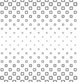Black white square pattern design background vector image vector image
