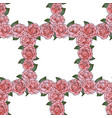 camellia seamless pattern vector image