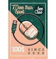 Color vintage cyber sport banner vector image