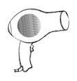 hair dryer equipment vector image vector image