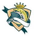 king salmon vector image vector image