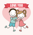 love kids vector image