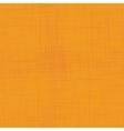 Orange linen seamless texture vector image vector image