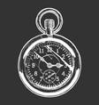 pocket watch vector image vector image