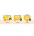 quick tips memphis style banners vector image