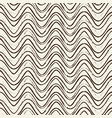 seamless pattern with ripple black lines vector image vector image