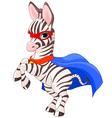 Super Zebra vector image vector image