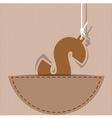 Money icon design on background vector image