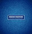 blue denim texture vector image