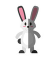 cartoon rabbit or bunny icon image vector image vector image