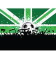 Fans celebrating football vector | Price: 1 Credit (USD $1)