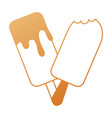 ice cream isolated icon vector image vector image