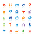 Perfect icons for travel vector image