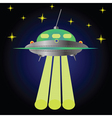 spaceship vector image vector image