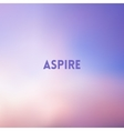square blurred pink and blue background - sunset vector image vector image