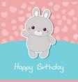 cute rabbit of cute rabbit vector image