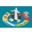 Arab oil tycoon Metal oil barrel Oil petroleum vector image