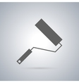 Icon painting roller vector image vector image