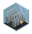 isometric diagnostic test vector image