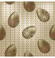 seamless vintage easter pattern vector image