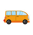 van transport vehicle vector image