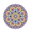 Ornamental round pattern vector image