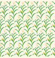 background pattern with corn stalk vector image vector image