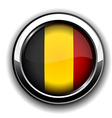 Belgian flag button vector image vector image