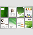 gren creative backgrounds and abstract concept vector image vector image