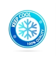 keep cool vector image