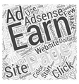 Monetizing Your Website With Adsense Is Profitable vector image vector image