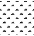 mountains pattern seamless vector image
