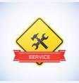 service icon vector image