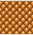 luxury leather upholstery vector image