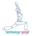 Ashtanga Yoga Logo 1 vector image vector image