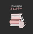 book quote library vector image