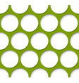 repeatable circle pattern vector image vector image