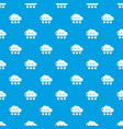 snow pattern seamless blue vector image vector image